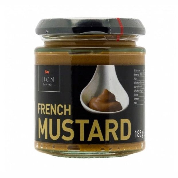 FRENCH MUSTARD 185GR - DeGusta Grocery Home Delivery