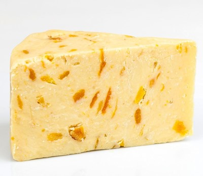 WENSLEYDALE & APRICOT CHEESE 1KG APPROX - DeGusta Grocery Home Delivery