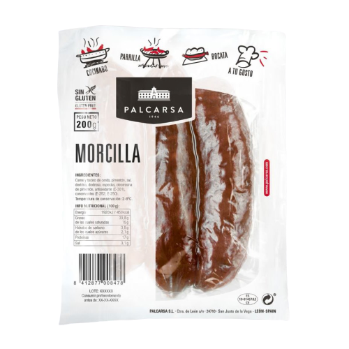 BLACK PUDDING PALCARSA 200g - DeGusta Grocery Home Delivery