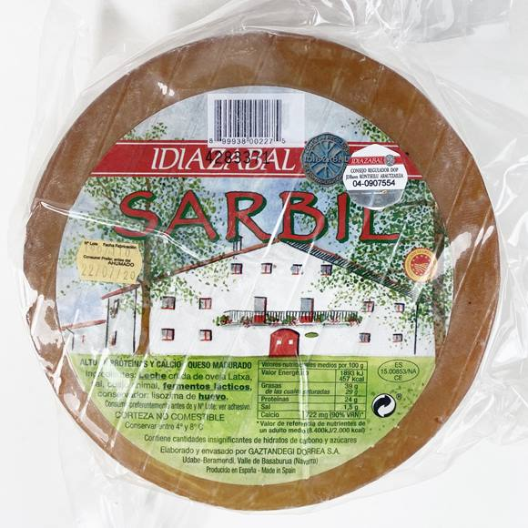 IDIAZABAL CHEESE WEDGE 350g.
