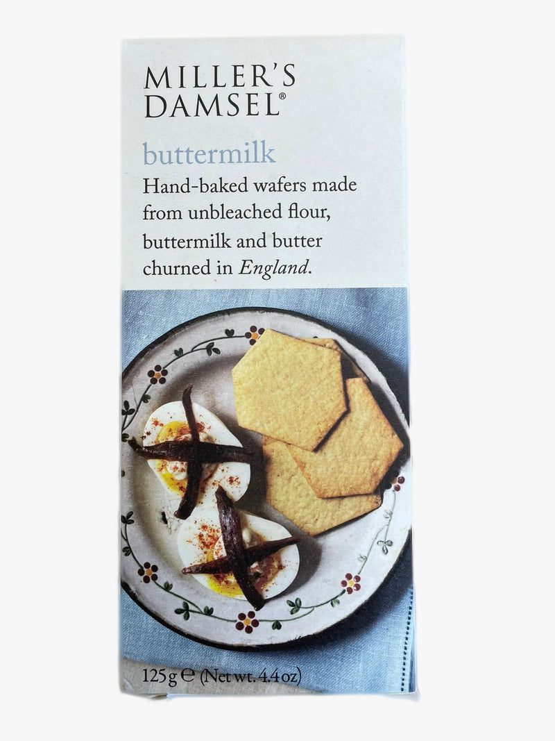 MILLER'S DAMSEL BUTTERMILK WAFERS 125g.