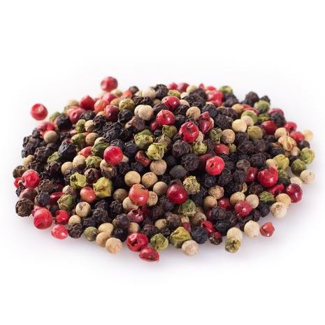 WHOLE MIXED COLOUR PEPPERCORN 500GR - DeGusta Grocery Home Delivery