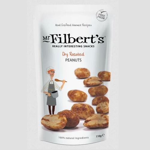 MR FILBERT'S DRY ROASTED PEANUTS 110g