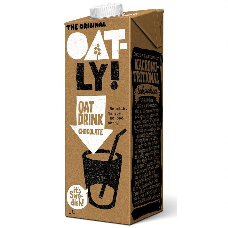 OATLY CHOCOLATE MILK 1L
