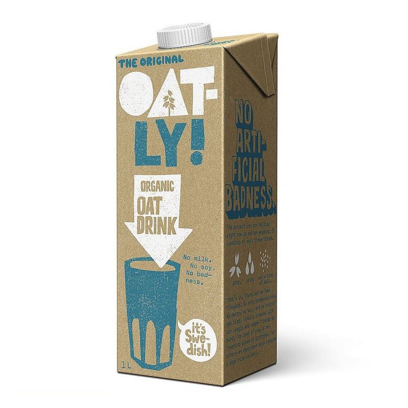OAT MILK OATLY ORGANIC 1L - DeGusta Grocery Home Delivery