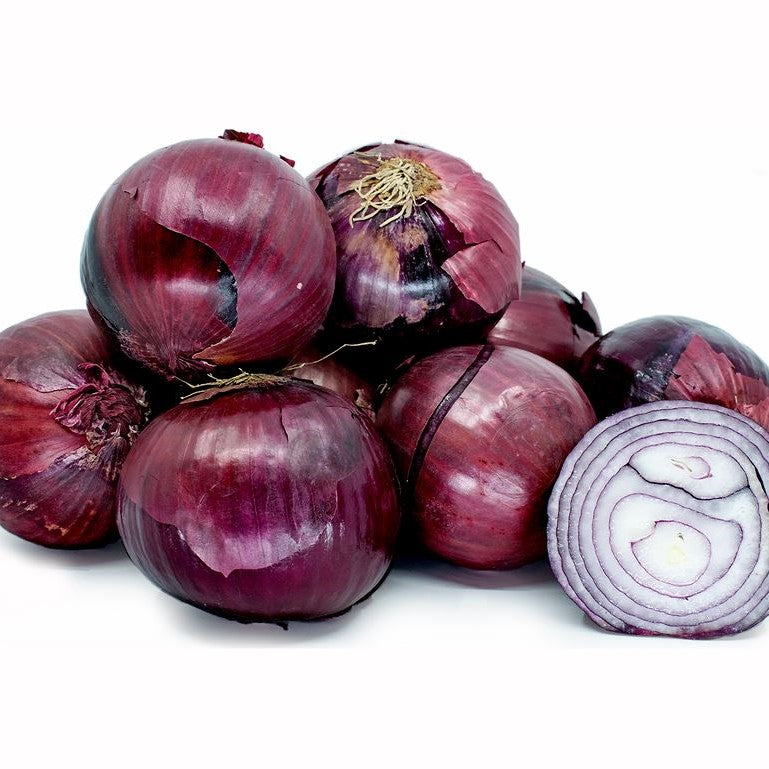 RED ONION LOOSE KG ( 4 units approx.) - DeGusta Grocery Home Delivery