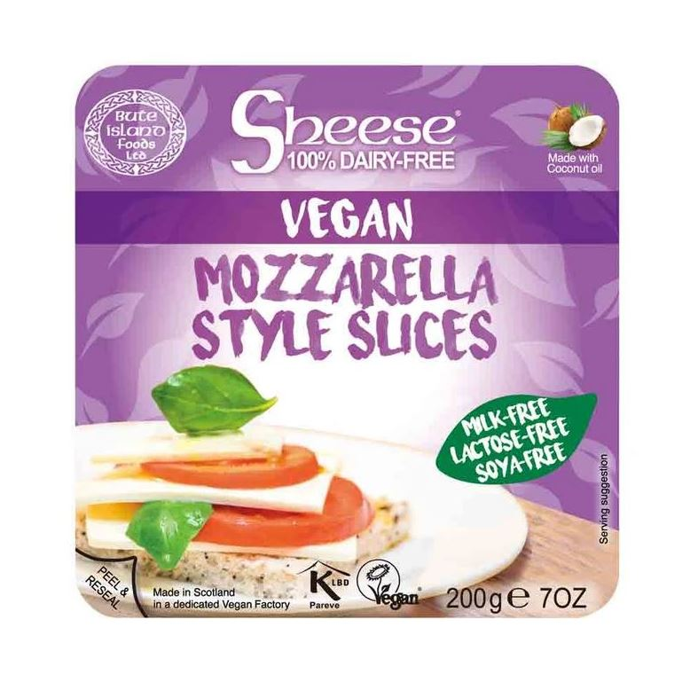 VEGAN MOZZARELLA STYLE SLICES 200g - DeGusta Grocery Home Delivery