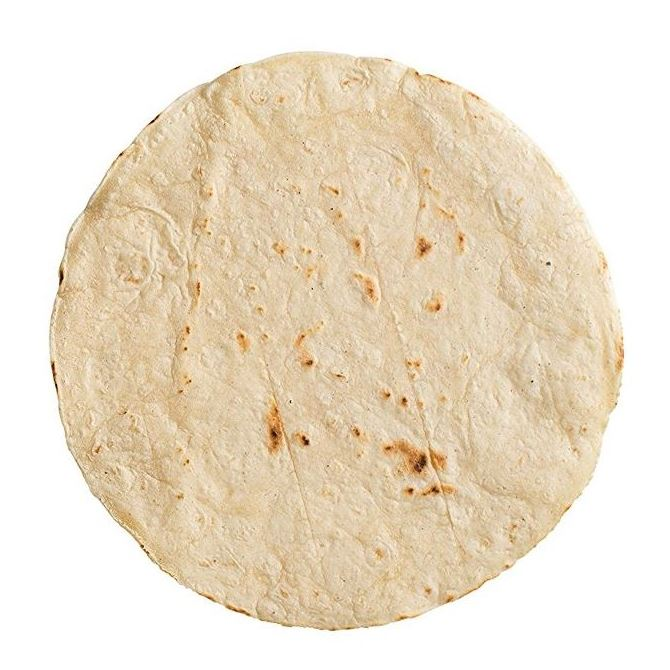 "WRAPS 10"" (PLAIN WHEAT FLOUR FROZEN TORTILLA) 1x18 - DeGusta Grocery Home Delivery"