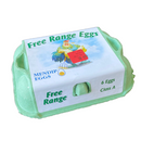 LOCAL FREE RANGE EGGS MEDIUM x6 und. - DeGusta Grocery Home Delivery