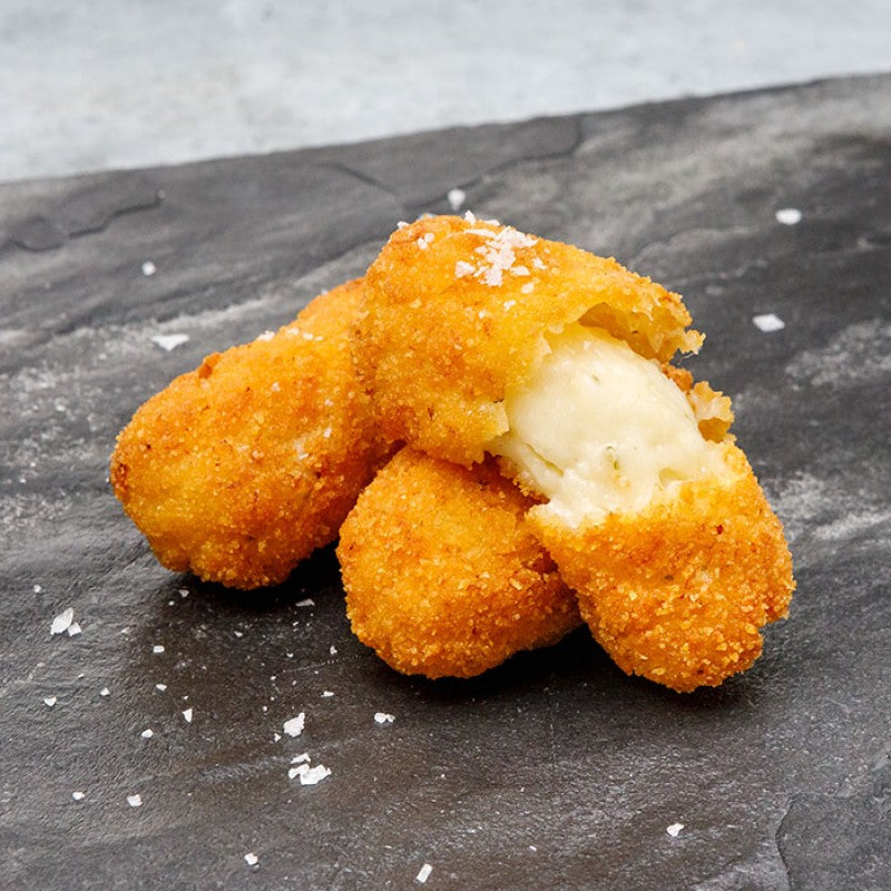 ARTISAN SALT COD CROQUETAS 600g tray (12 units) - Served in San Sebastian´s Top Pintxo Bars