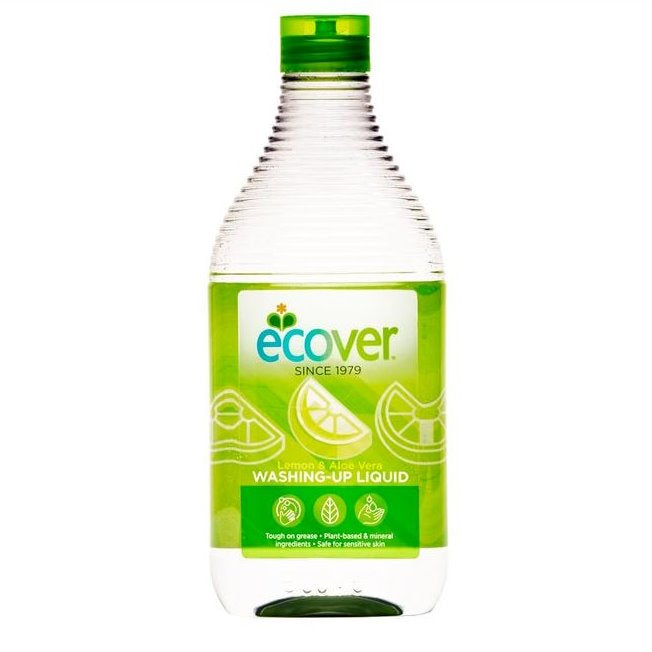 ECOVER LEMON & ALOE VERA WASH UP LIQUID 950ml - DeGusta Grocery Home Delivery