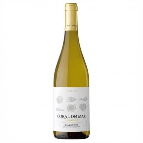 WHITE WINE ALBARINO CORAL DO MAR 12% - DeGusta Grocery Home Delivery