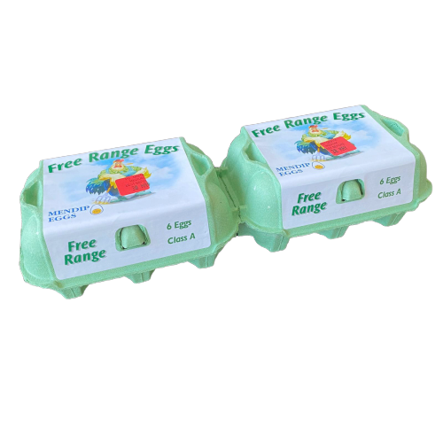 LOCAL FREE RANGE EGGS MEDIUM x12 und. - DeGusta Grocery Home Delivery