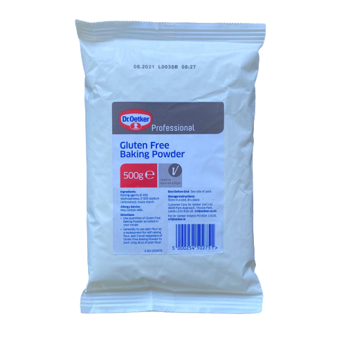 GLUTEN FREE BAKING POWDER 500g