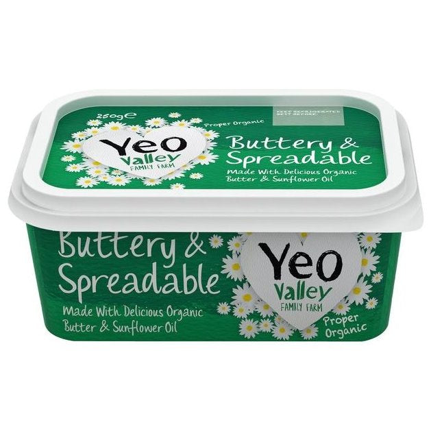YEO ORGANIC SPREADABLE BUTTER 500g - DeGusta Grocery Home Delivery
