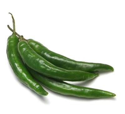 GREEN HOT CHILLIES 100g - DeGusta Grocery Home Delivery
