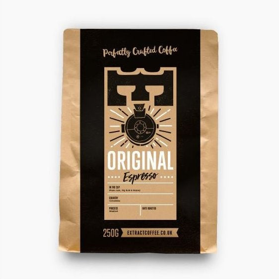 ORIGINAL ESPRESSO COFFEE 250GR - DeGusta Grocery Home Delivery