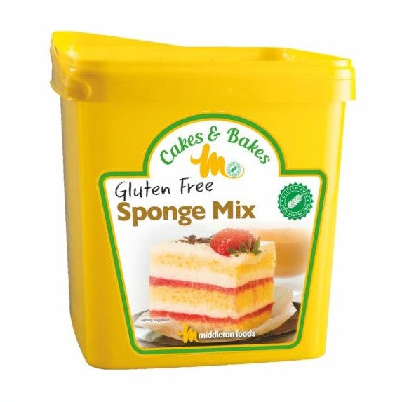 GLUTEN FREE PLAIN SPONGE MIX 3kg - DeGusta Grocery Home Delivery