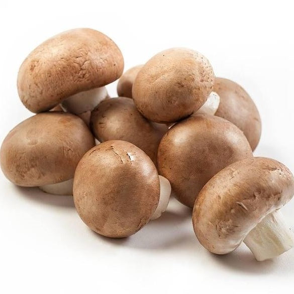 CHESTNUT MUSHROOMS 400G - DeGusta Grocery Home Delivery