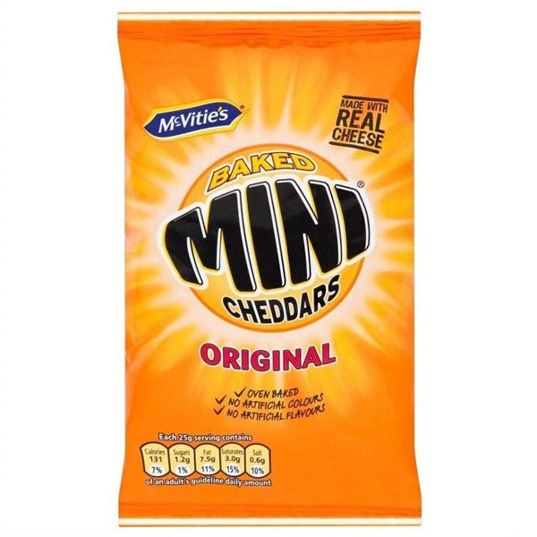 MINI CHEDDAR BISCUITS 50GR - DeGusta Grocery Home Delivery