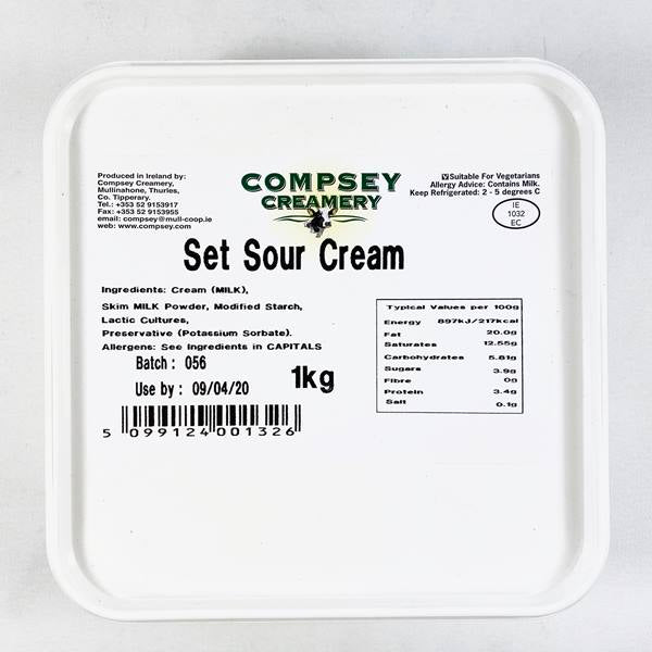 SOURED CREAM 1KG - DeGusta Grocery Home Delivery