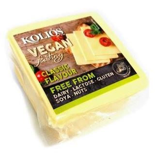 KOLIOS YELLOW VEGAN CHEESE SLICES 200g