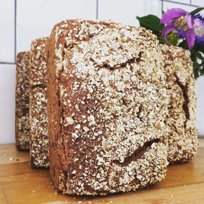 100% SEEDED RYE SOURDOUGH 800gr
