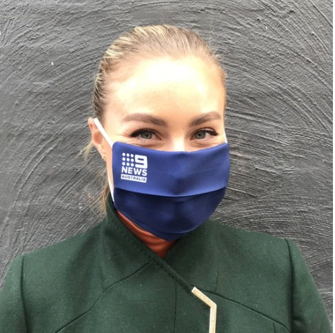 Printed Logo Face Masks