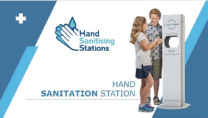 Hand Sanitiser Units - Touchless