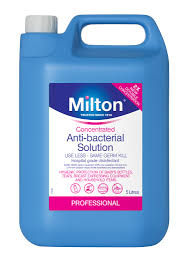 Milton Anti-Bacterial Solution  5 litres - Made in the UK