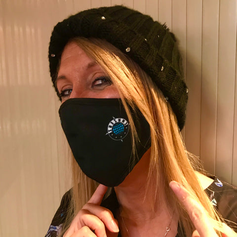 Chasers Ninja Reusable Face Mask with Adjustable Straps- 3 Ply- $10 plus gst