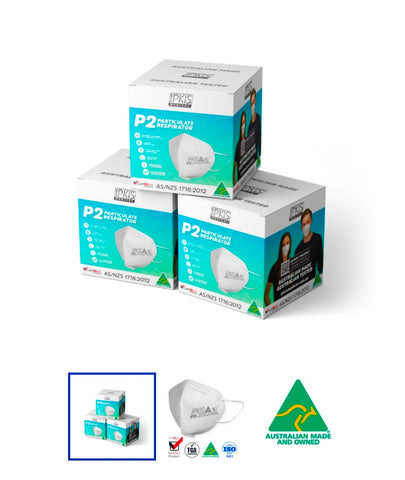 P2 Respirators - Australian Made - $2.79 each TGA approved