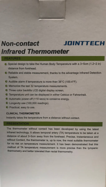 Thermometer Infrared Non Contact : Single Unit