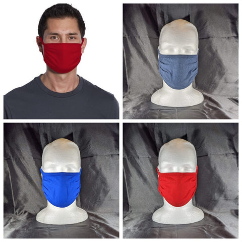Reusable Cotton Knit Face Mask