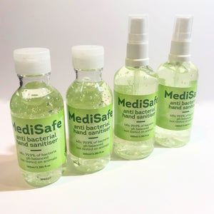 Medi-Safe Hand Sanitiser Value 4 Pack x 100ml - Australian Made