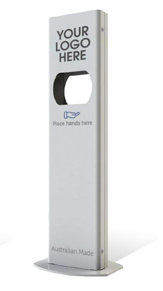 Standard No Logo Fully Automatic Touch Free Hand Sanitiser station -Australian Made