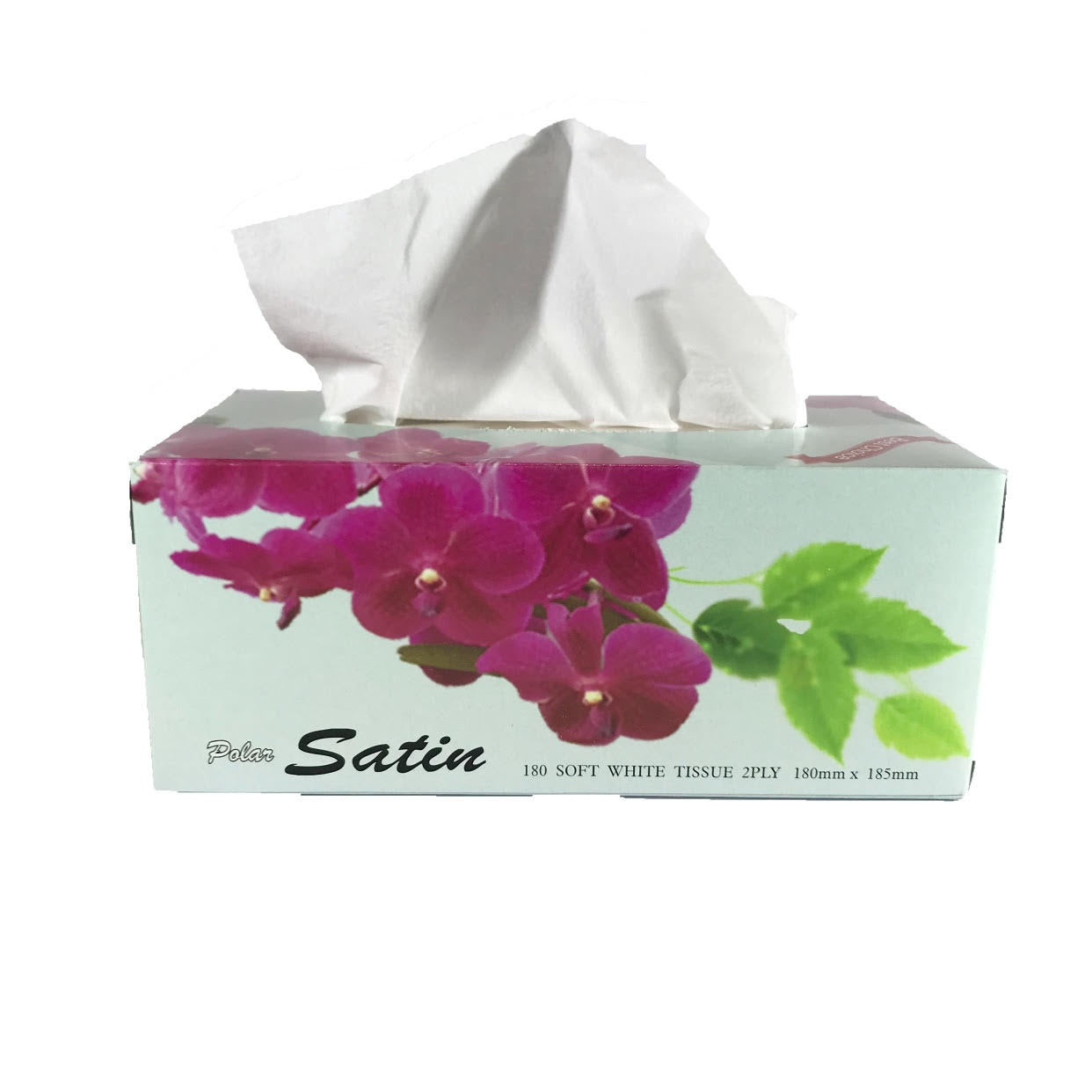 Sunrise Tissues 2ply 180mm x 180mm : 180 pieces per pack