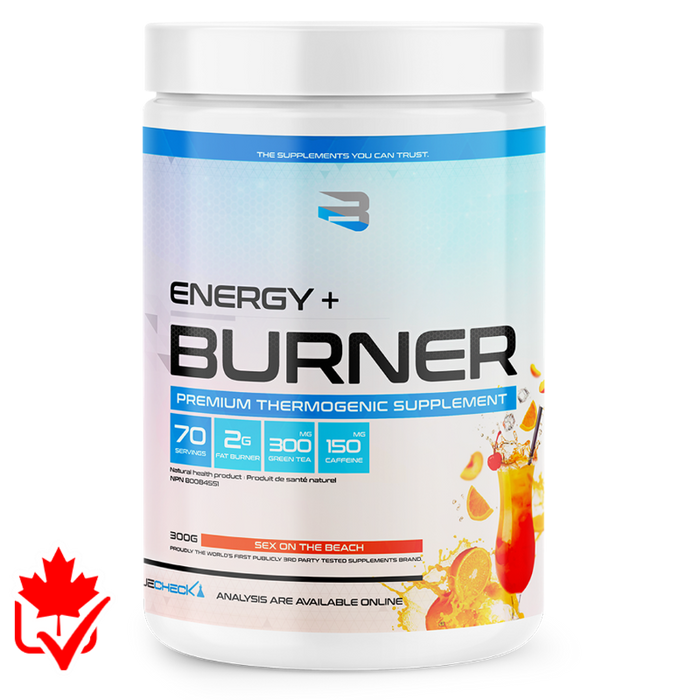 Believe Energy+Burner 70 Servings