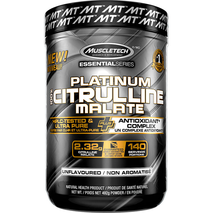 MuscleTech Platinum 100% Citrulline Malate 492g