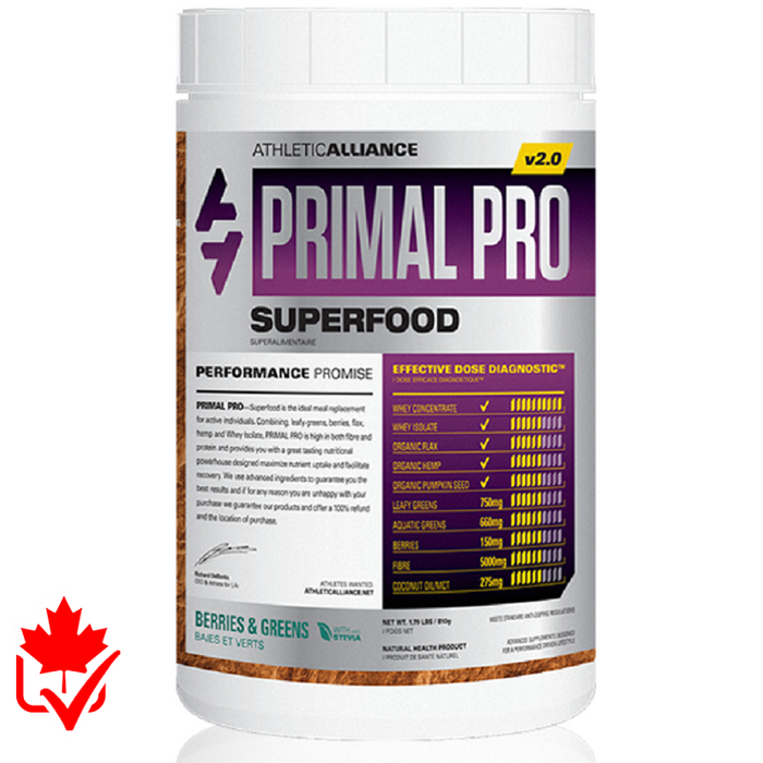 Athletic Alliance Primal Pro 810g Berries & Greens