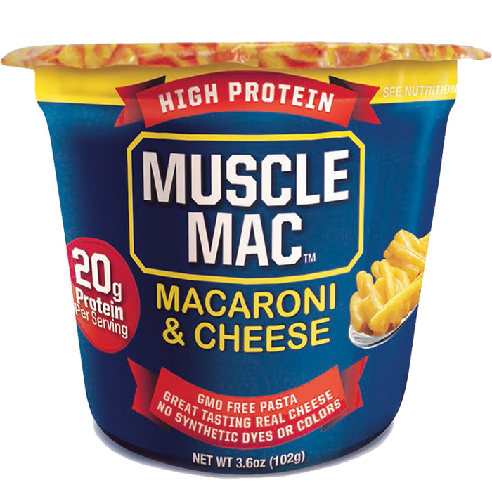Muscle Mac Macoroni & Cheese Microwavable Cup