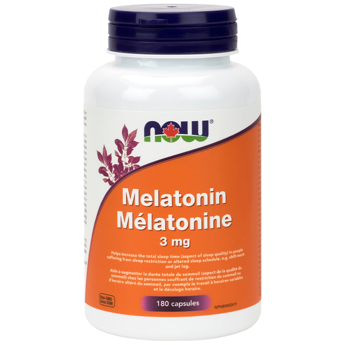 NOW Melatonin 180 Caps