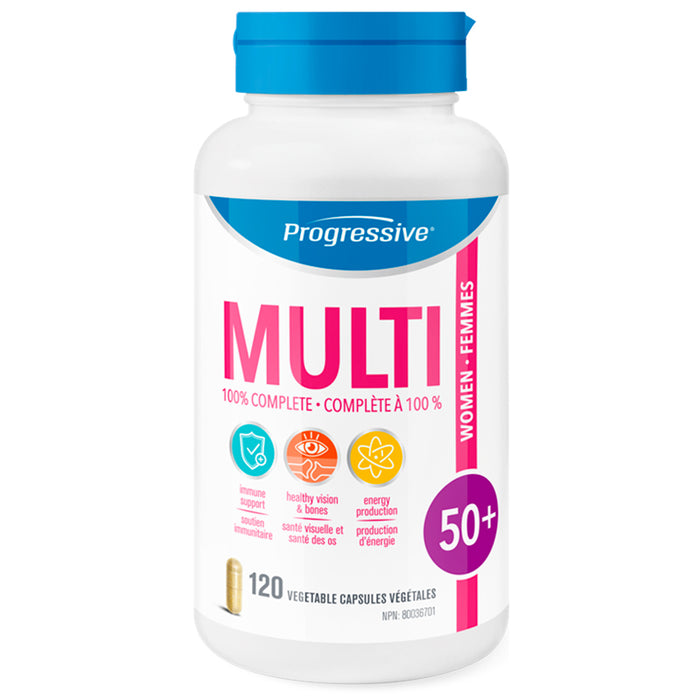 Progressive Women 50+ Multi 120 Caps