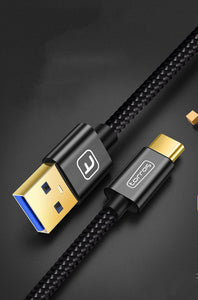 Type C Fast Charging Nylon Braided Fast Charging Cord