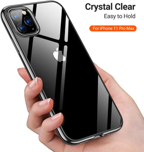 TORRAS iPhone 11 Pro Max Case, Ultra-Thin Slim Fit Soft Silicone TPU Cover Case 6.5 inch - TORRAS