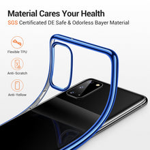 Load image into Gallery viewer, TORRAS Crystal Clear for Samsung Galaxy S20 5G Case 6.2 Inch Ultra-Thin Slim Fit Soft TPU Cover Case - TORRAS