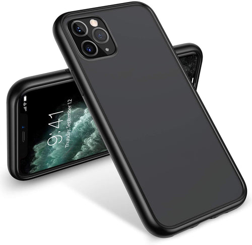 TORRAS Shockproof iPhone 11 Pro Case Translucent Matte Hard PC & Soft TPU Bumper, Anti-Scratch - TORRAS