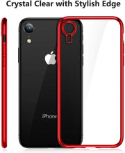 Load image into Gallery viewer, TORRAS Clear iPhone XR Case, Ultra Thin Slim Fit Soft Silicone TPU Protective Cover Cases - TORRAS