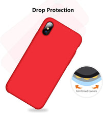 Load image into Gallery viewer, TORRAS Love Series iPhone Xs/iPhone X Case, Liquid Silicone Gel Shockproof Soft Microfiber Cloth - TORRAS