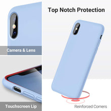 Load image into Gallery viewer, TORRAS Love Series iPhone Xs Max Case 6.5 inch, Liquid Silicone Gel Rubber Shockproof Case - TORRAS